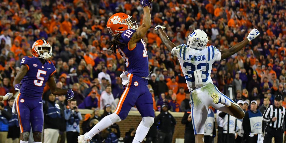 Clemson overcomes slow start, stays perfect with win over Duke
