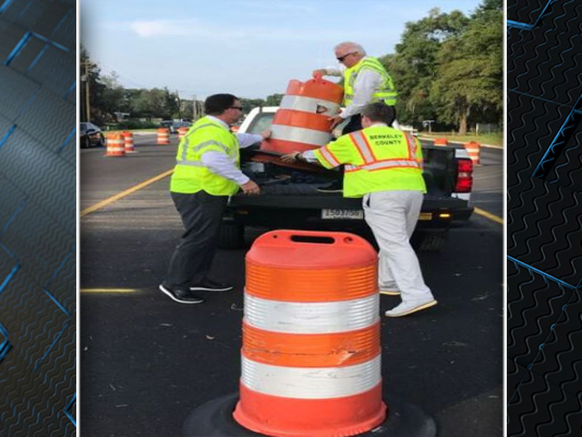 First phase of Clements Ferry Road widening finished ahead of schedule