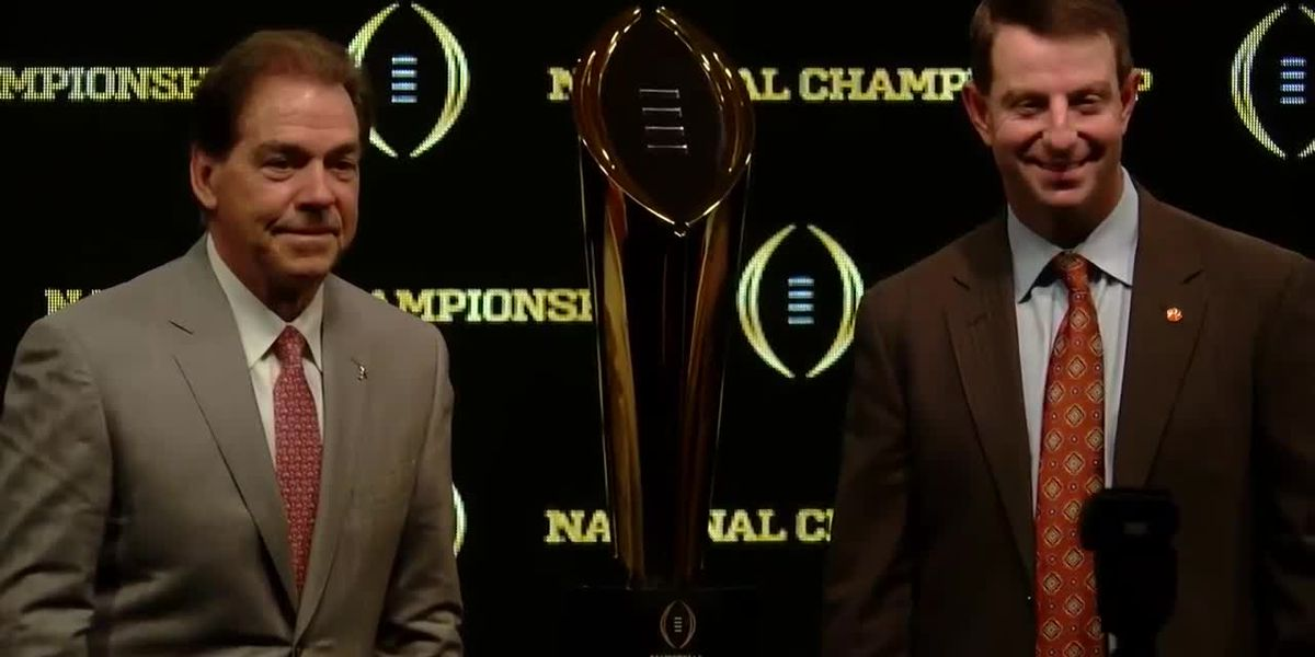 Dabo, Saban show respect for one another ahead of title game