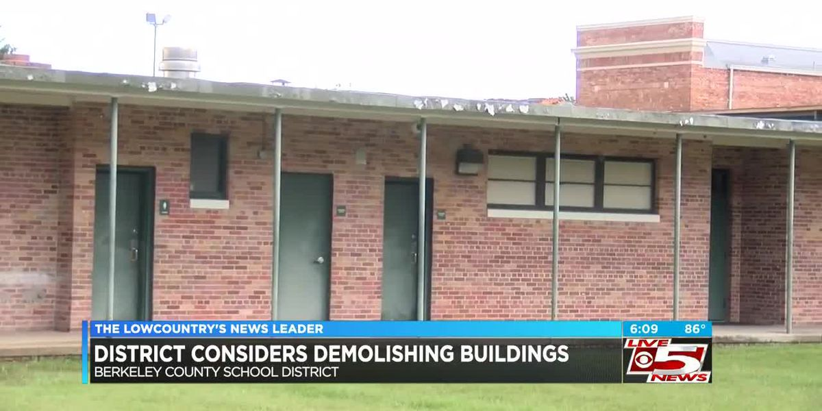VIDEO:Berkeley Co. School District considers demolishing some buildings and classrooms to save money