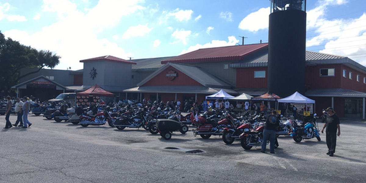 Bikers ride for homeless veterans in Lowcountry