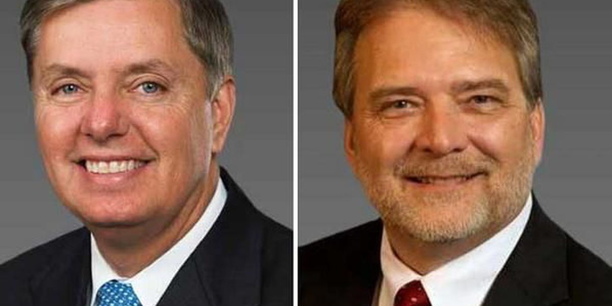 US Sen Graham, challenger Hutto meet for 1st time