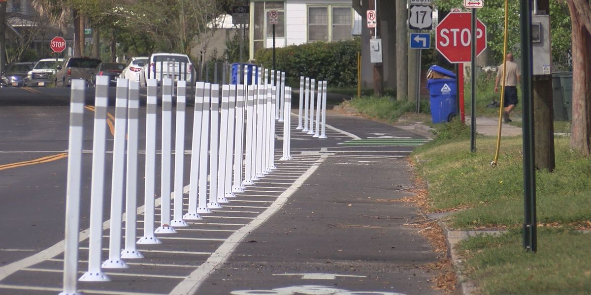 Safety project complete on Brigade St. in downtown Charleston