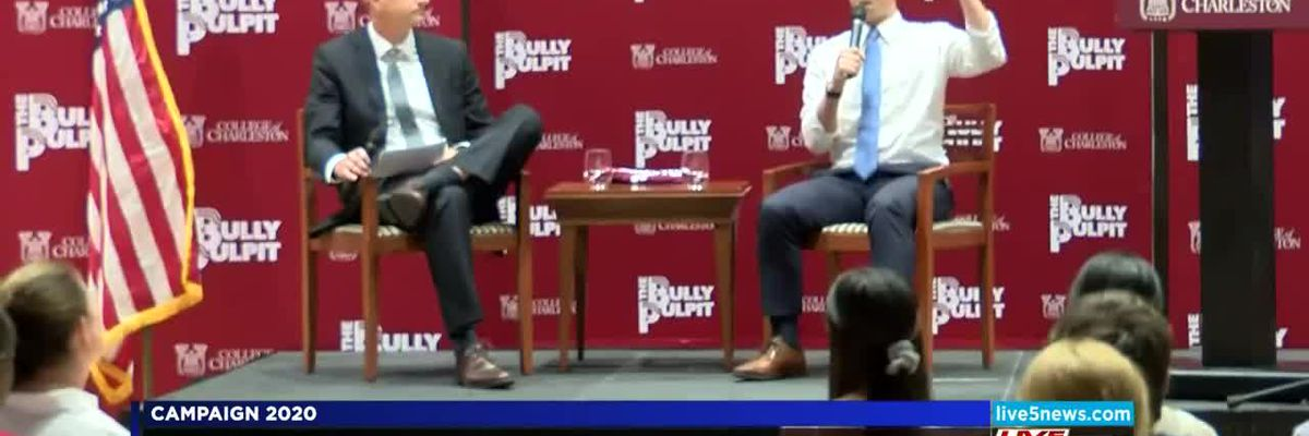 VIDEO: Presidential candidates visit Charleston, speak with students and medical professionals