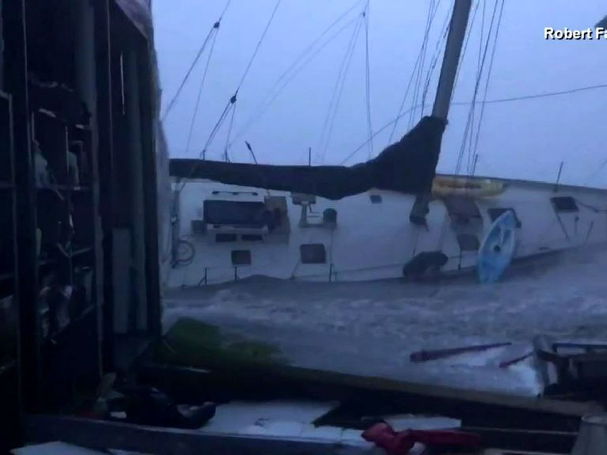 'The power is unbelievable': Fla. man survives Hurricane Sally on sailboat