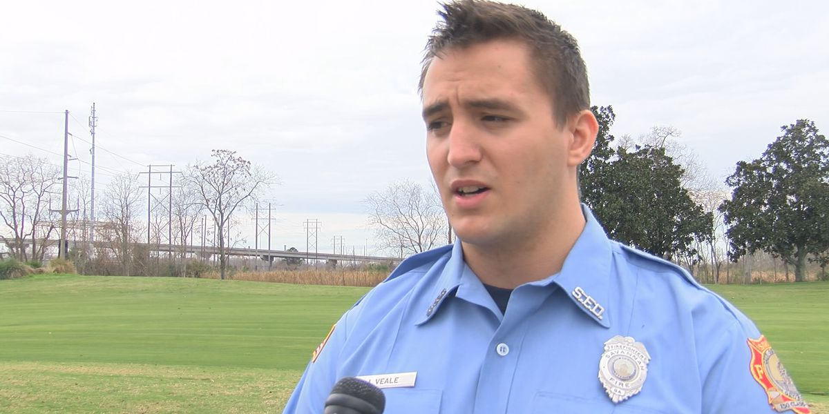 Firefighter credited with saving man thrown from Back River Bridge speaks