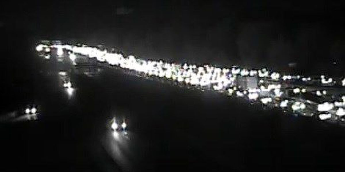 Collisions slow eastbound traffic on I-26 Friday morning