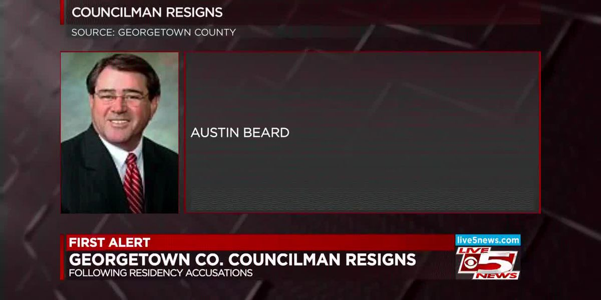 VIDEO: Georgetown County Council member accused of living outside district he represents resigns