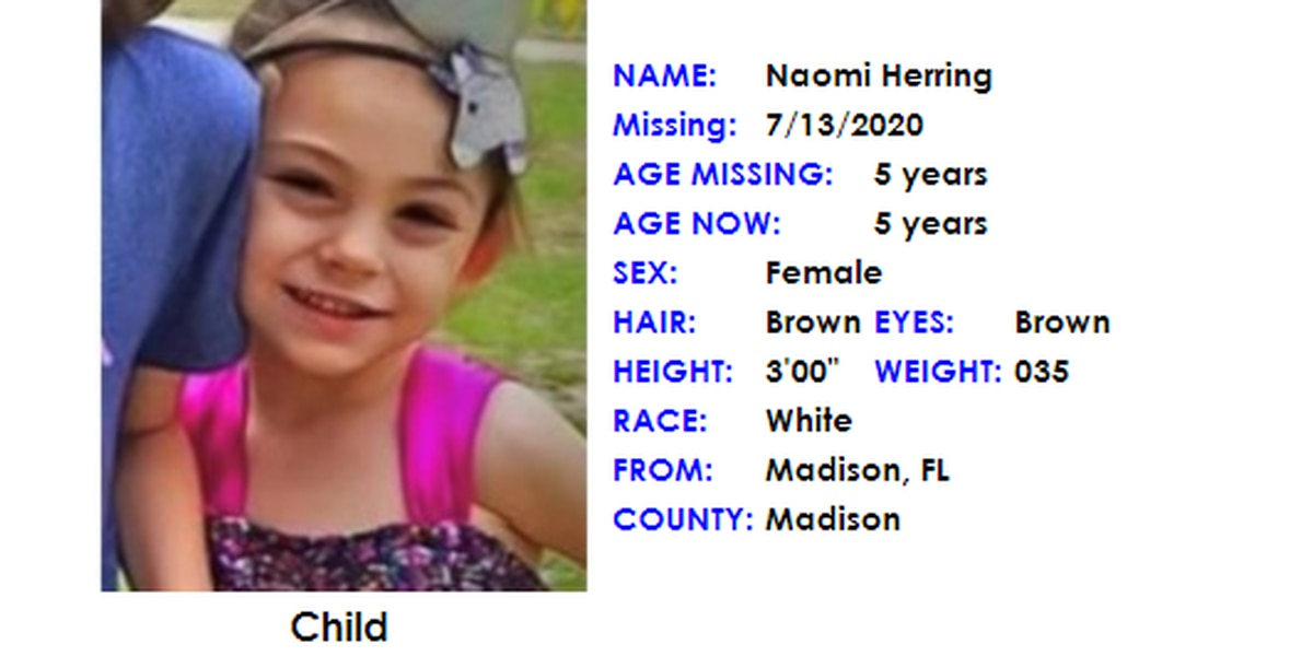 AMBER Alert cancelled, missing 5-year-old found safe
