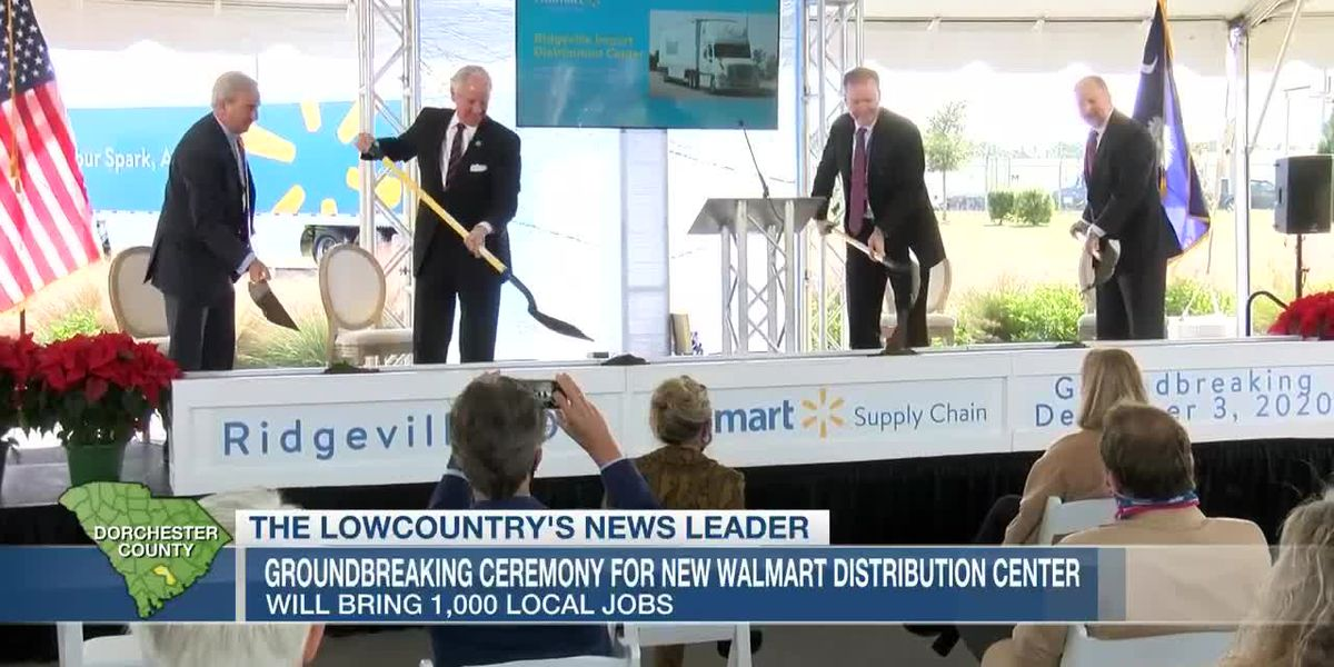 VIDEO: McMaster attends groundbreaking for Dorchester County Walmart facility