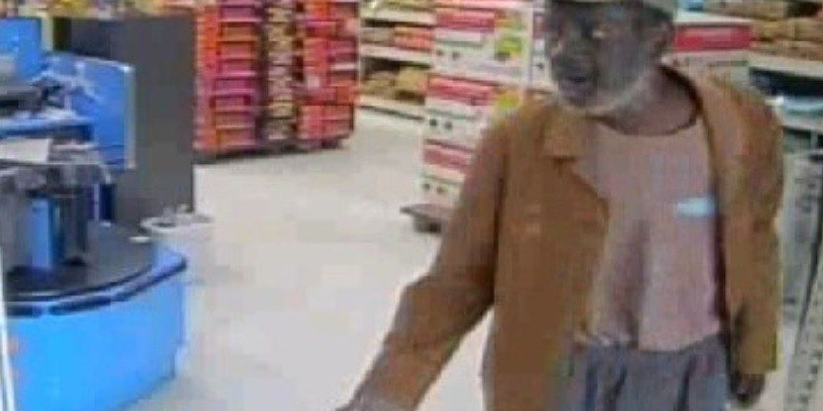 Suspect sought in shoplifting at Hilton Head Walmart