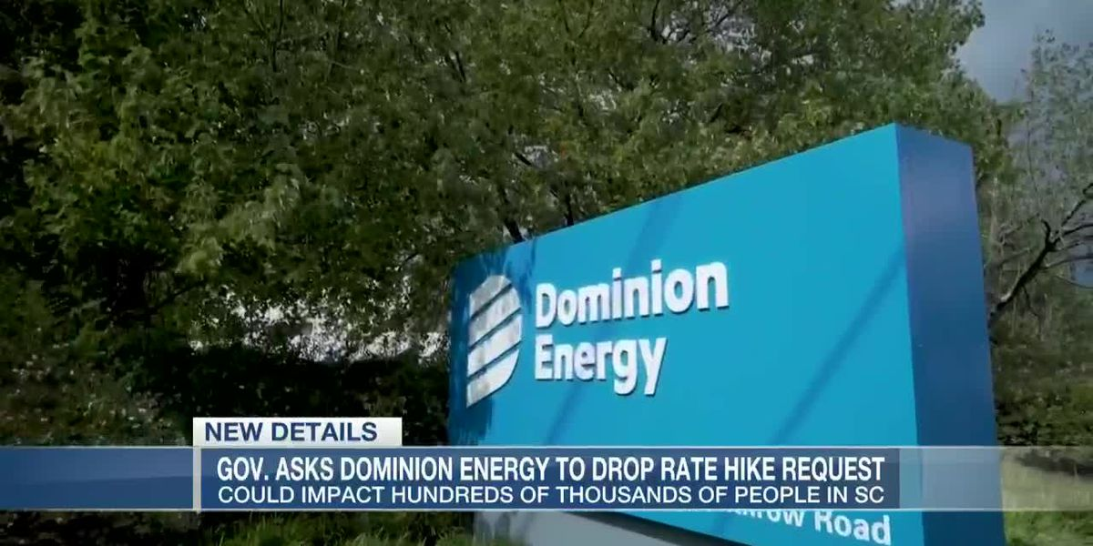 VIDEO: McMaster calls on Dominion Energy to withdraw rate hike request
