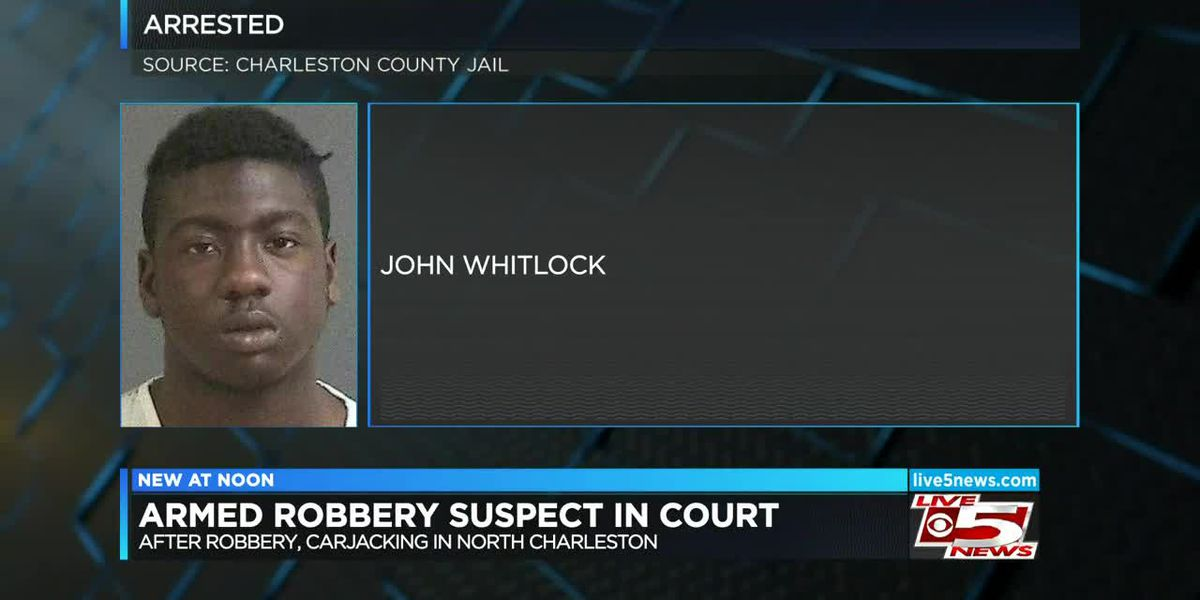 VIDEO: Bond set at $400K for man charged with shooting involving N. Charleston police officers