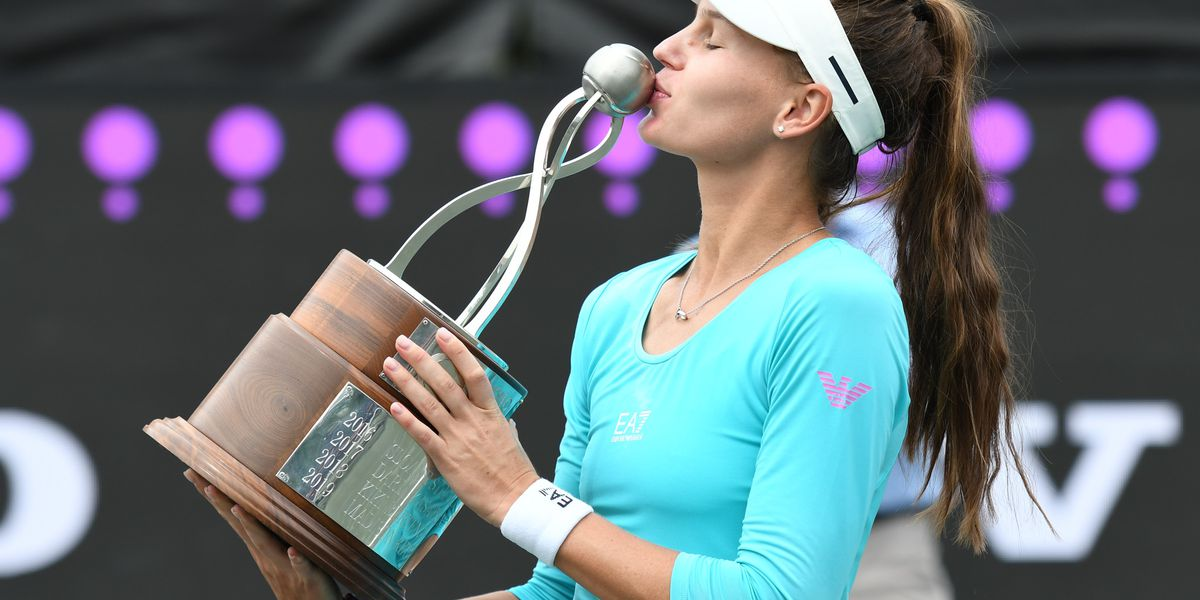 Veronika Kudermetova wins Volvo Car Open in straight sets