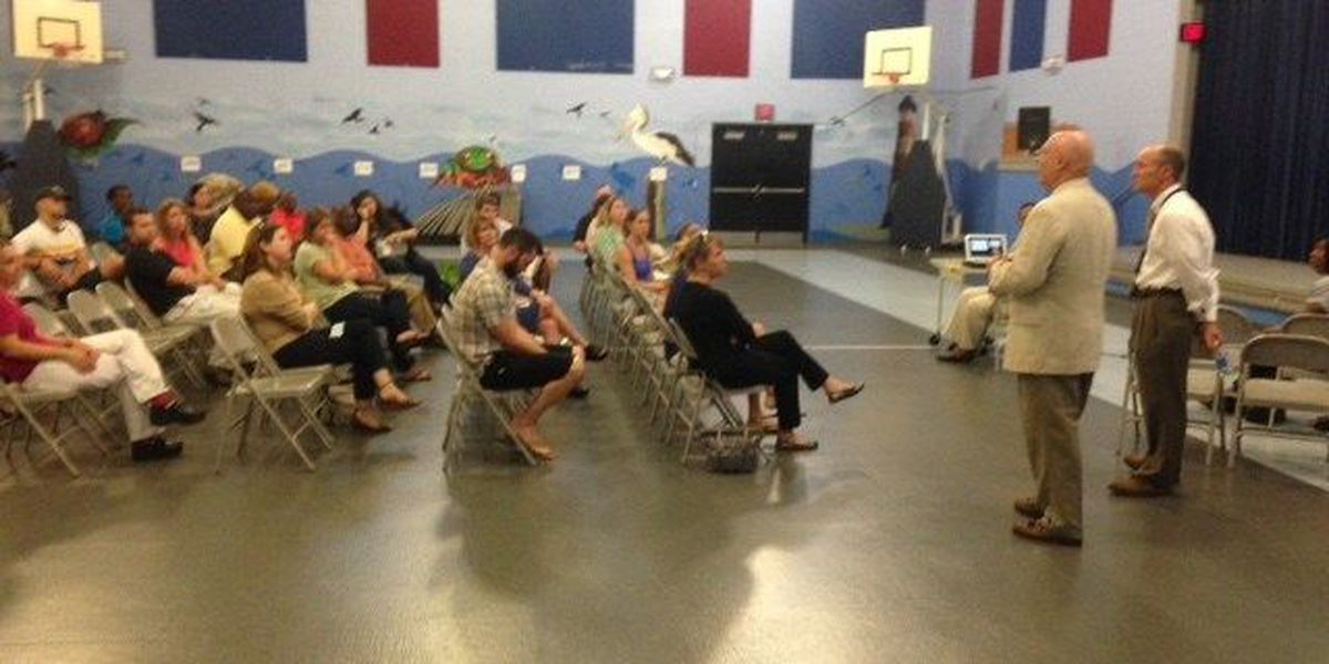 James Island community meets to discuss possible middle schools merging