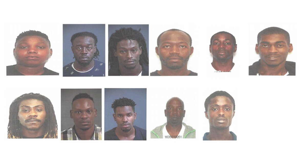 Charleston police net 30 suspects in undercover narcotics operation