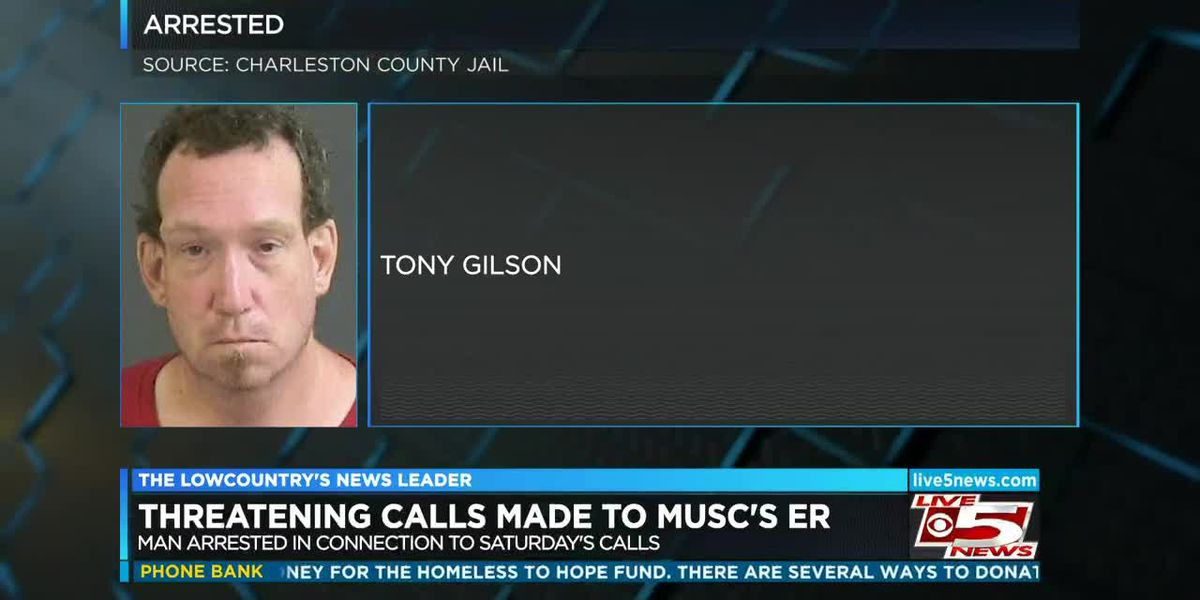VIDEO: Man arrested in connection with threatening calls made to MUSC's ER