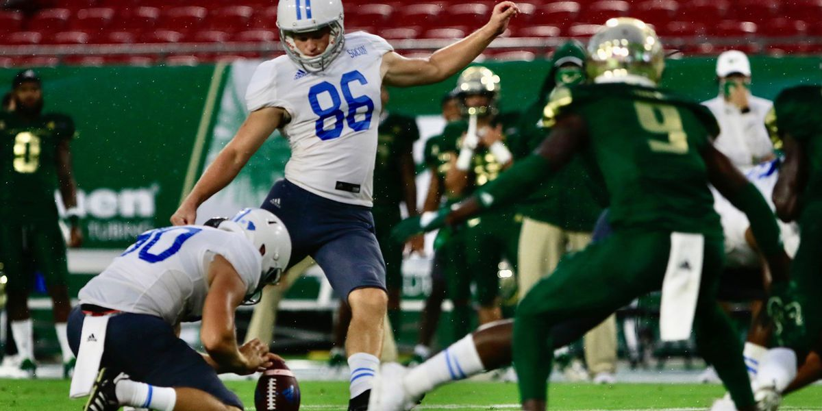 The Citadel drops opener at South Florida 27-6