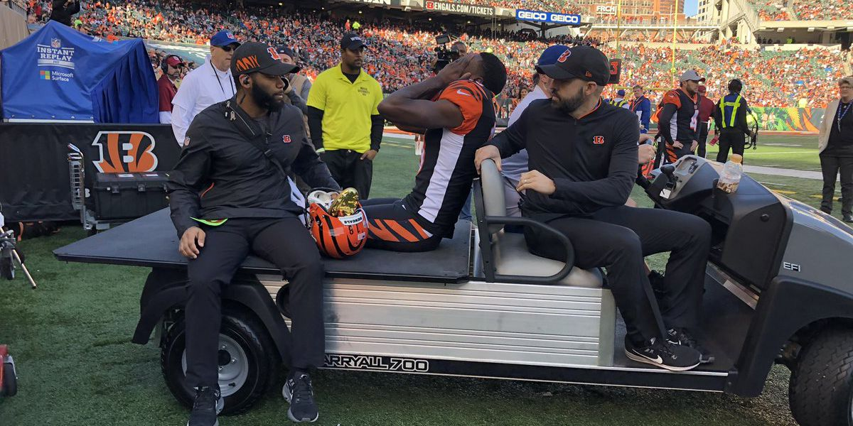Bengals receiver A.J. Green out for the season with injury