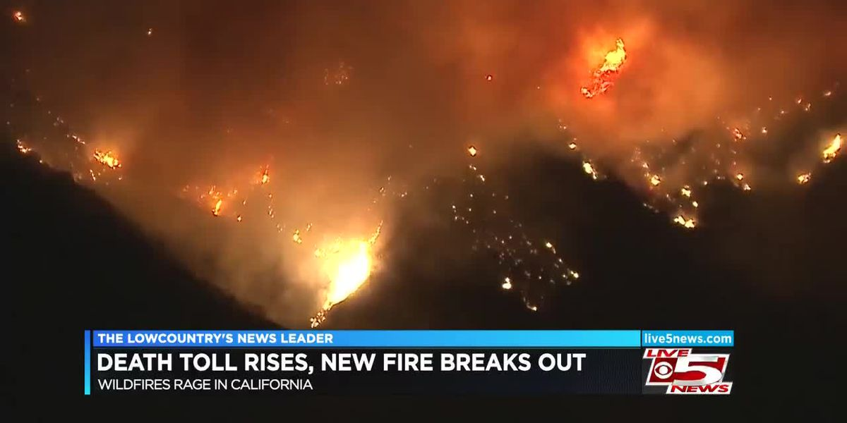 VIDEO: Death toll rises in California wildfires; New fire breaks out