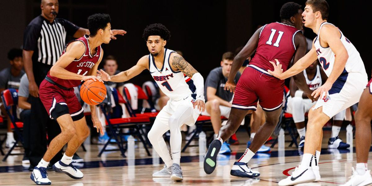Preston carries Liberty past South Carolina State 82-52