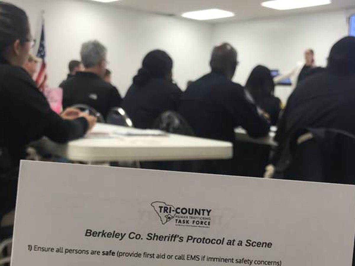 Berkeley County Sheriff's Office receives training to identify human trafficking