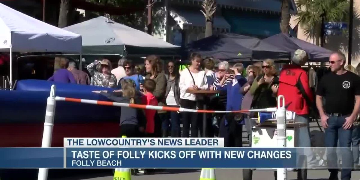 VIDEO: Taste of Folly kicks off with changes, safeguards against COVID-19