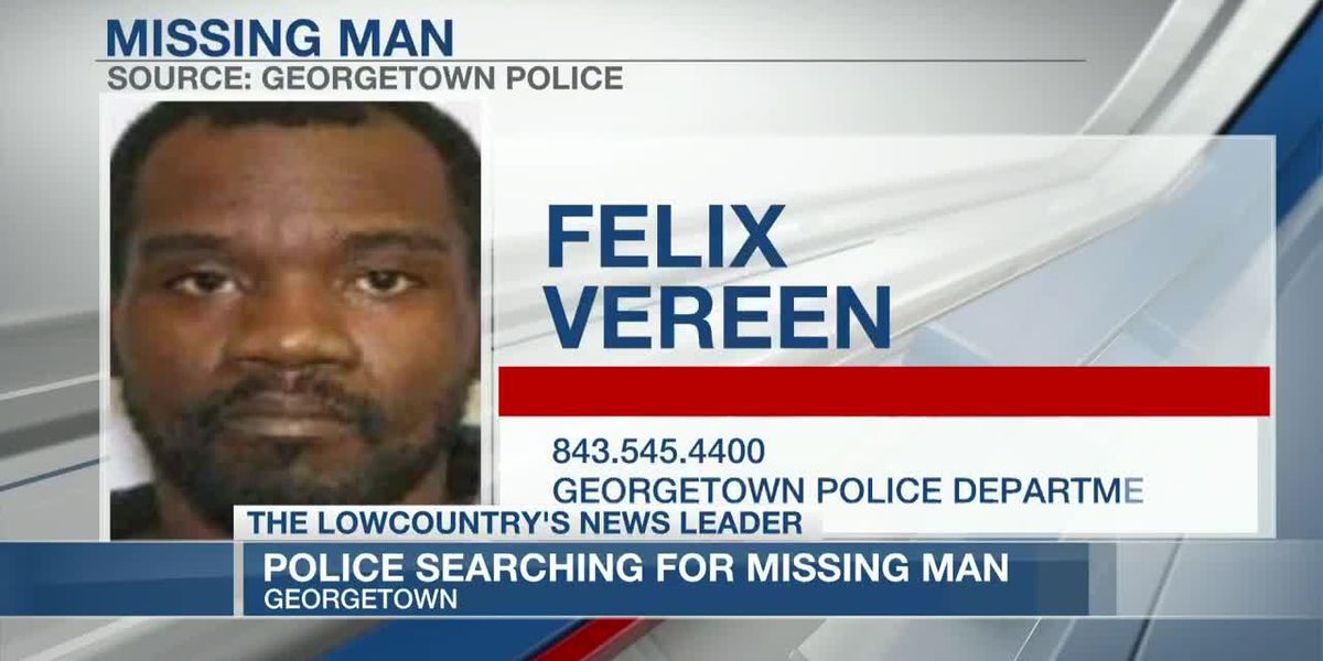 VIDEO: Police searching for missing Georgetown man