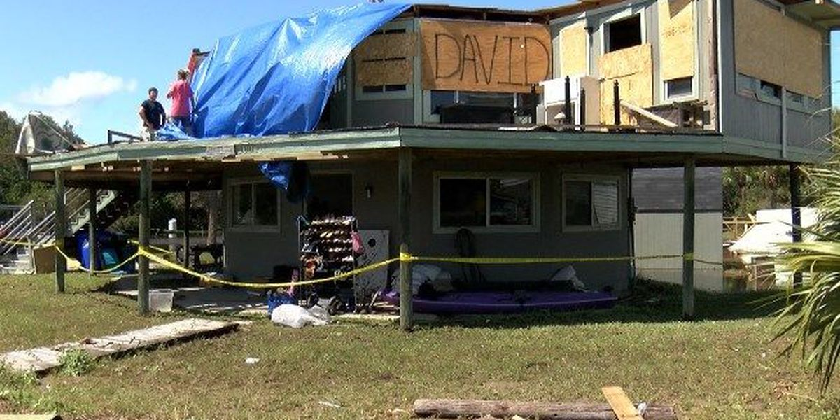 Sullivan's Island residents continue cleanup after Irma damages homes, erodes dunes