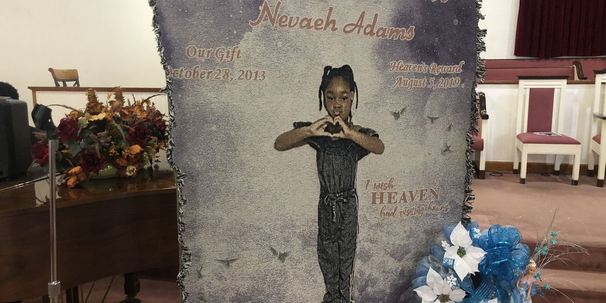 Sumter community says goodbye as 5-year-old Nevaeh Adams is laid to rest
