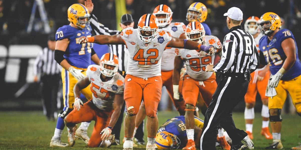 No. 2 Clemson Pummels Pitt For Fourth Straight ACC Title