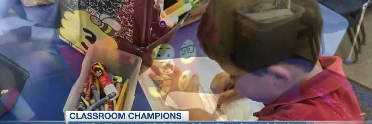 VIDEO: Classroom Champions: Teacher wants writing journals for kindergartners at Clay Hill
