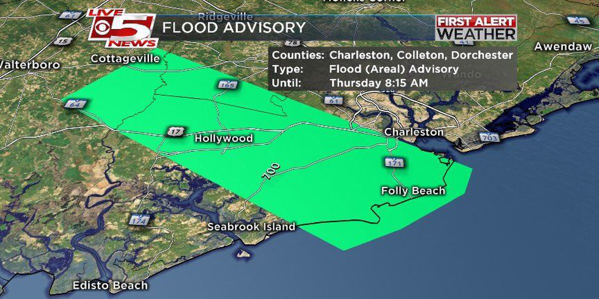 FIRST ALERT WEATHER: Lowcountry flood advisory expires