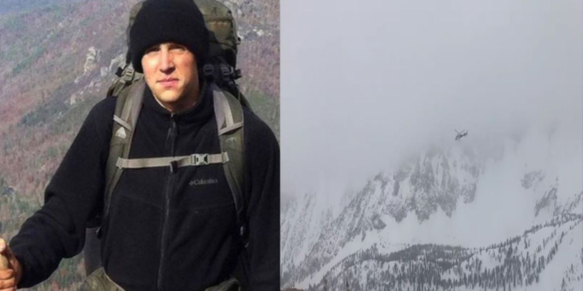 Active search suspended for 2016 Citadel grad who went missing during hike in Sierra Nevada mountains