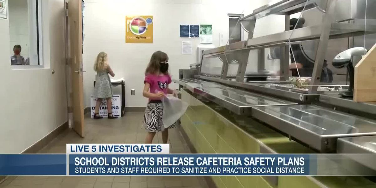 VIDEO: COVID-19 and the Cafeteria: School districts release fall safety plans