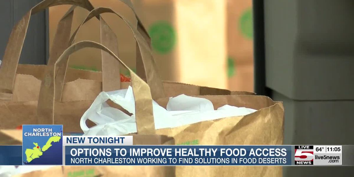 VIDEO: N. Charleston, tri-county leaders explore options to improve food access
