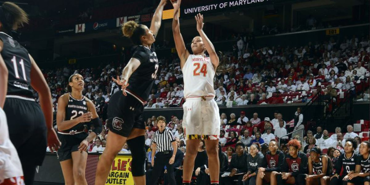 USC women hold off run by Maryland