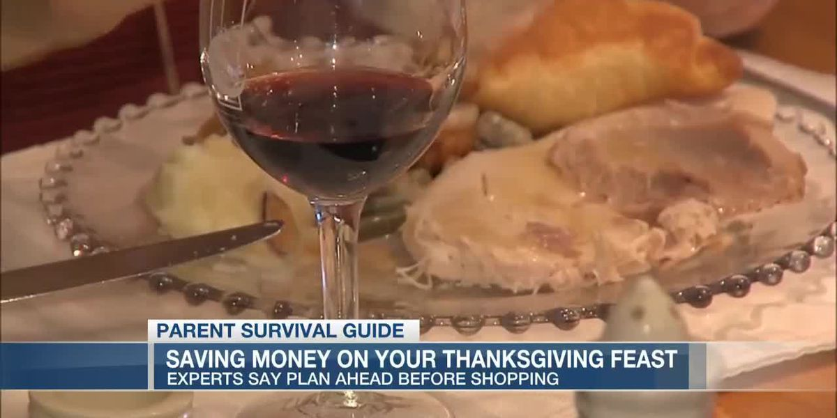 VIDEO: Parent Survival Guide: Saving on your Thanksgiving dinner