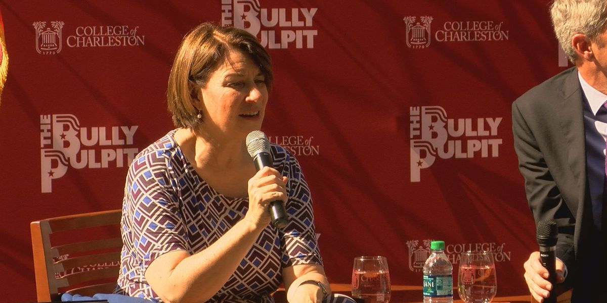 Sen. Amy Klobuchar visits College of Charleston