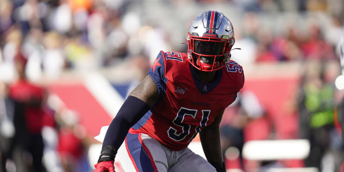 St. John's alum Edmond Robinson signs with Atlanta Falcons