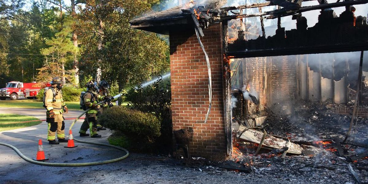 Colleton Co. family loses home to fire