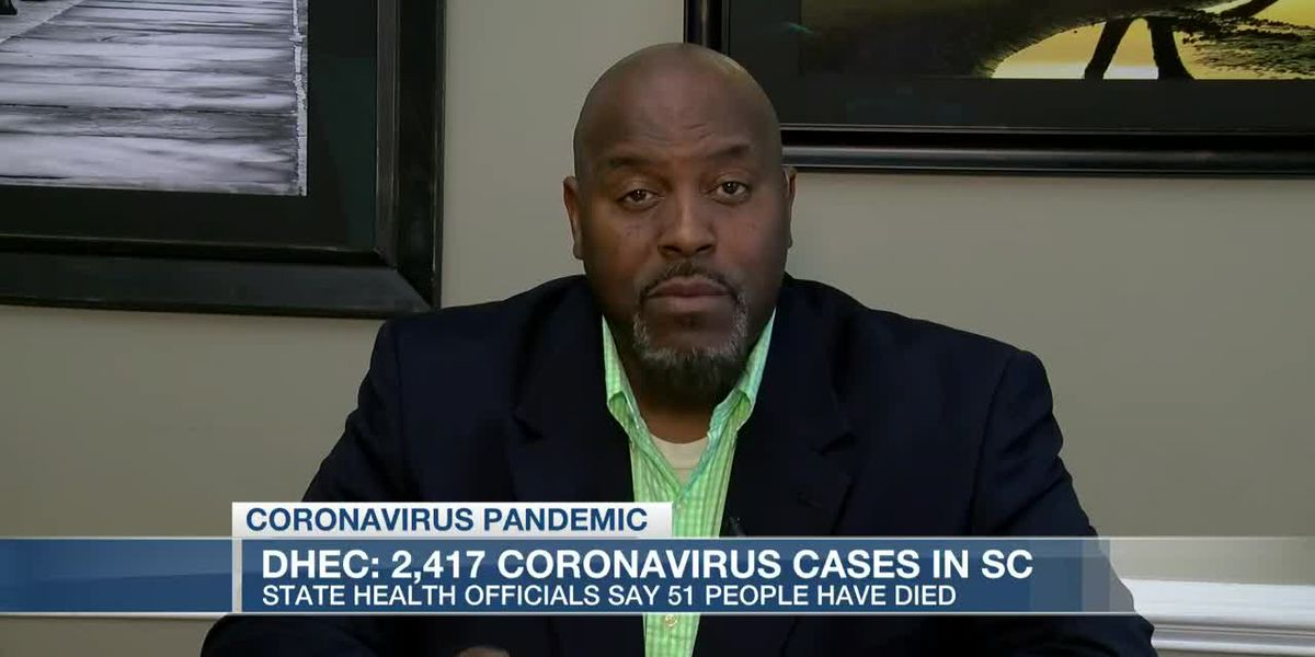 VIDEO: More than 2,400 cases of COVID-19 in South Carolina; three more deaths reported