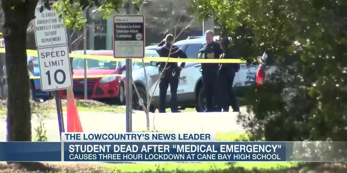VIDEO: Deputies investigating death of 16-year-old student at Cane Bay High School
