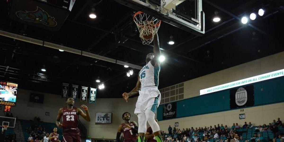 Bamba's Career High Leads CCU Past Little Rock