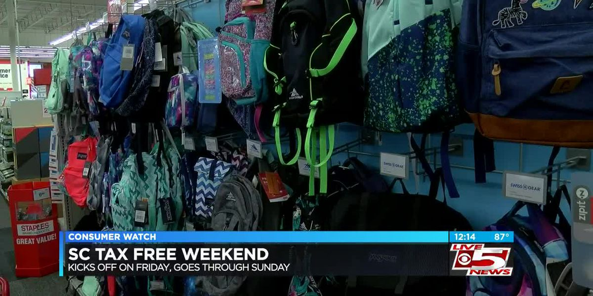 VIDEO: Annual Sales Tax-Free Weekend kicks off Friday to help back-to-school shoppers