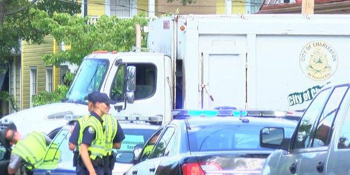 SCHP: Sanitation worker killed by garbage truck in downtown Charleston