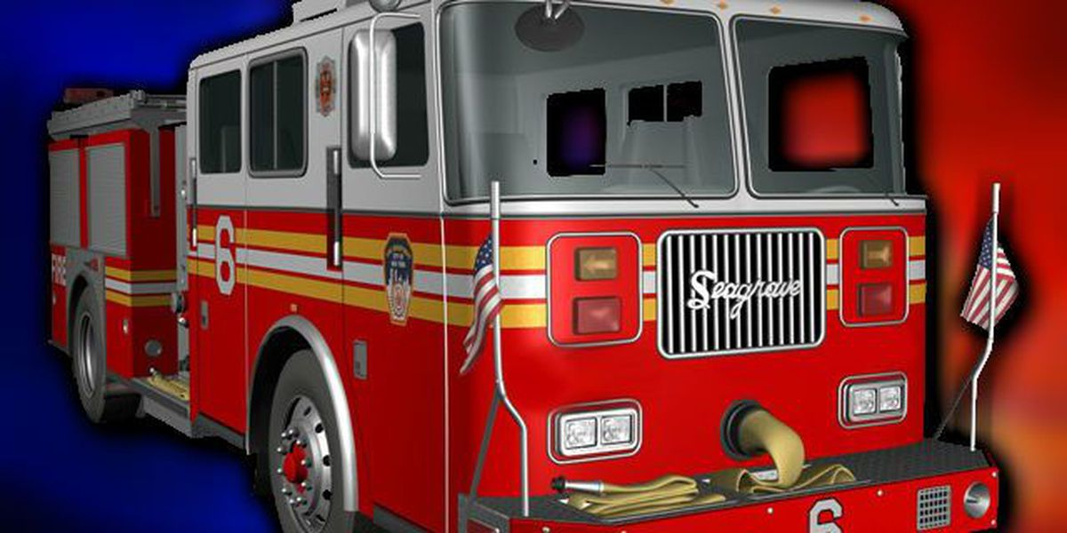 North Charleston fire department responds to town home fire