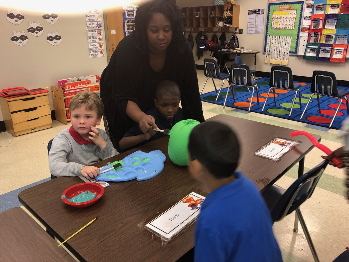 Classroom Champions: Brown wants sand and paint supplies for autistic students