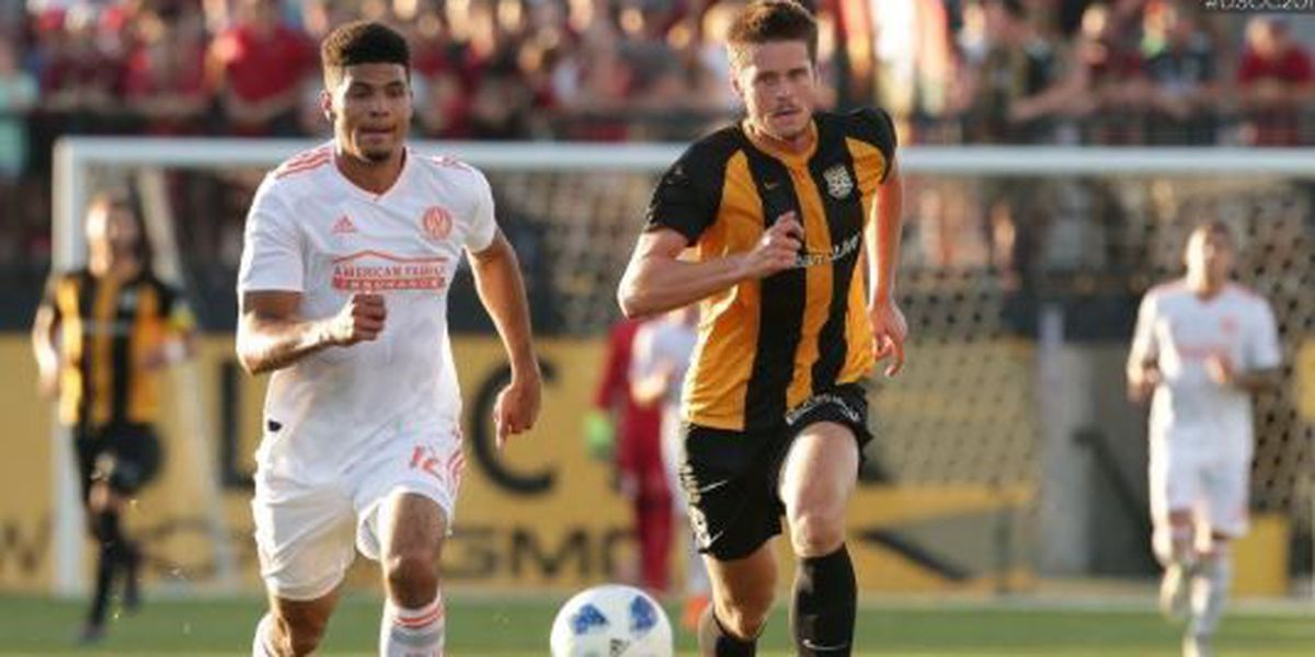 Battery's Open Cup run ends against Atlanta