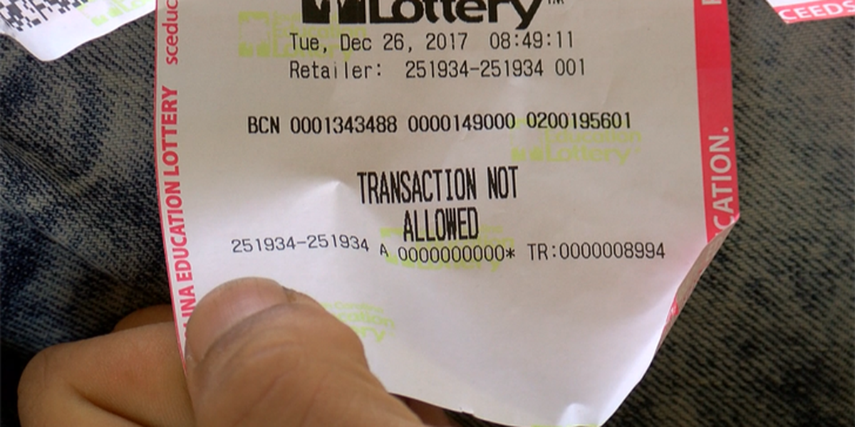 Monday is deadline for refund in SC Lottery game glitch